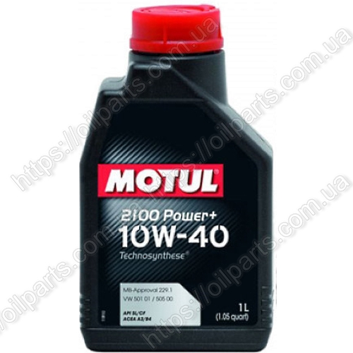 Масло Motul 2100 Power+ 10W-40 (1л.)